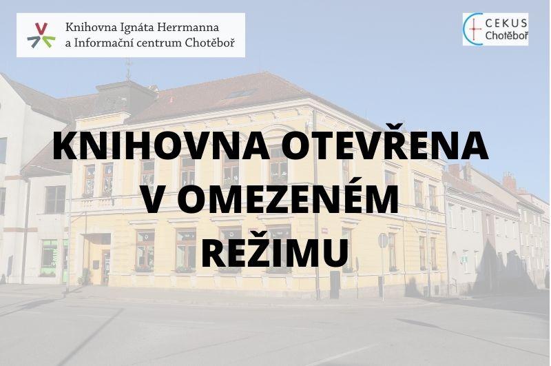 Knihovna otevřena